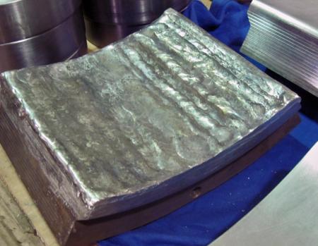 Babbitt bearing repair - puddling